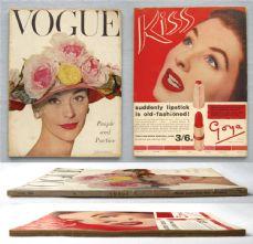 Vogue Magazine - 1956 - June